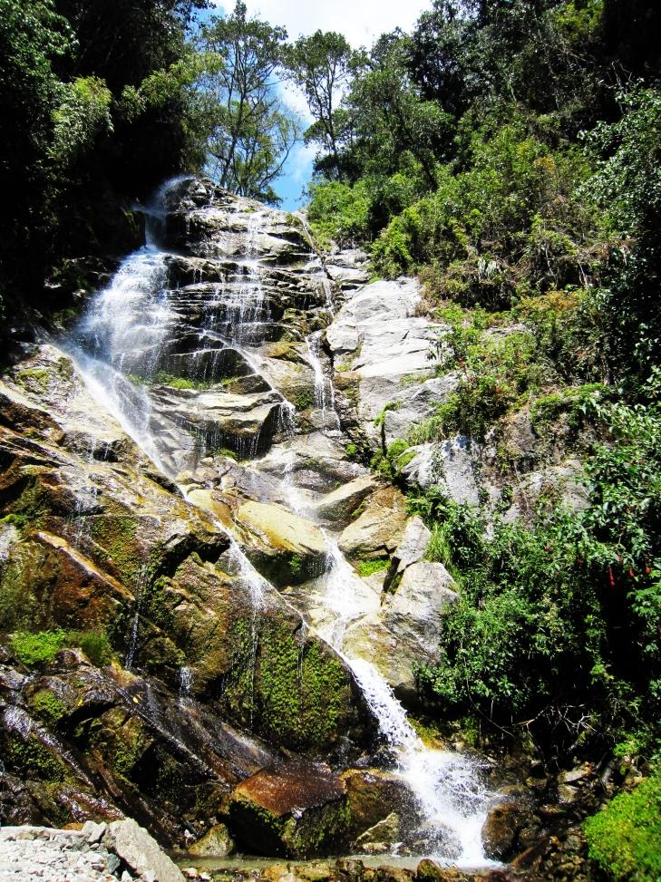 Waterfall on the Inka Trail